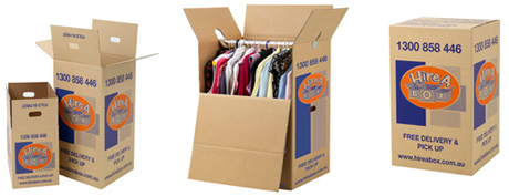 moving clothes storage