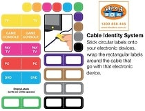Cable Label Stickers