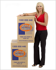 Strong large boxes for stacking and moving