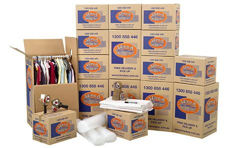 Hire Or Buy Moving Boxes With Hire A Box